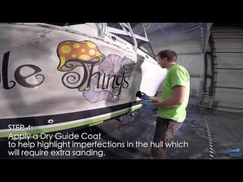 Boat Painting 101 - Hull Prep