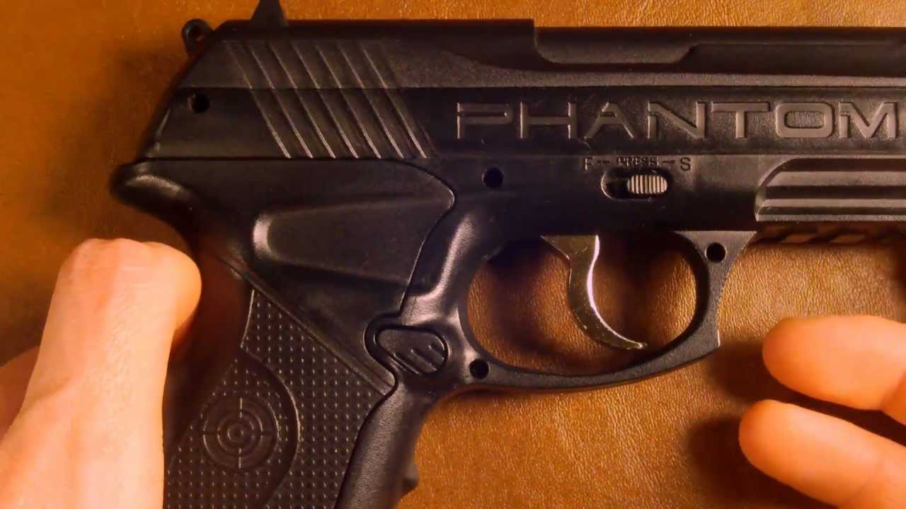 Up Close Crosman P10 Phantom CO2 BB Gun