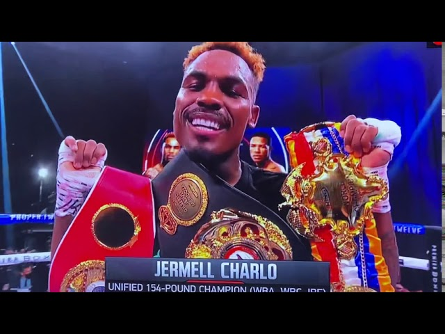 Jermell Charlo WINS against Jeison Rosario