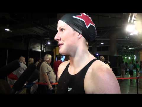 Missy Franklin - Mixed Zone Interview D4 - 200 Free
