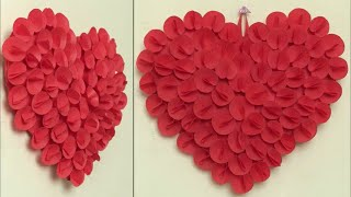 Best Out Of Waste Idea 2018 || Heart Wall Hanging Craft Idea || DIY Room Decor Idea || Handmade