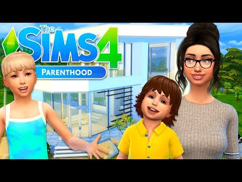 The Sims 4 Parenthood - OUR NEW HOUSE!! (Sims 4 Parenthood, Episode 2)