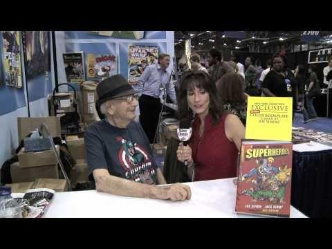 Legendary Co-creator of Captain America, Joe Simon Interview at NY Comic Con 2010