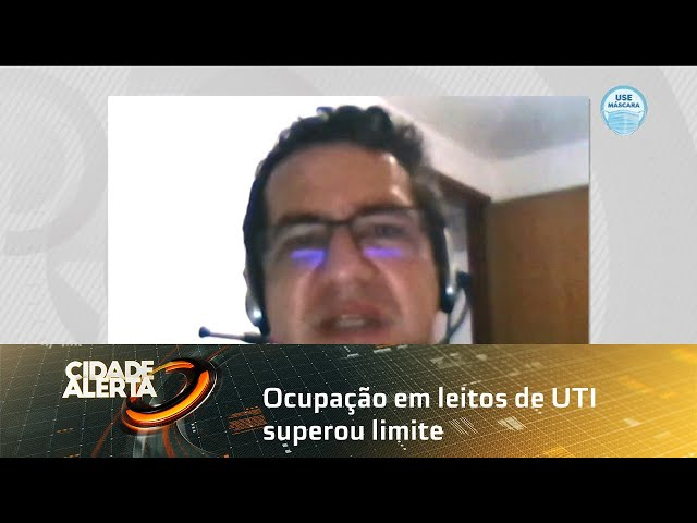 Ocupação em leitos de UTI superou limite recomendado para adoção de lockdown