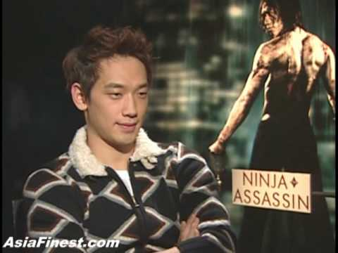 Rain Interview Bi say he wants a Sexy Girl and is fit like Bruce Lee in Ninja Assassin Korean 비