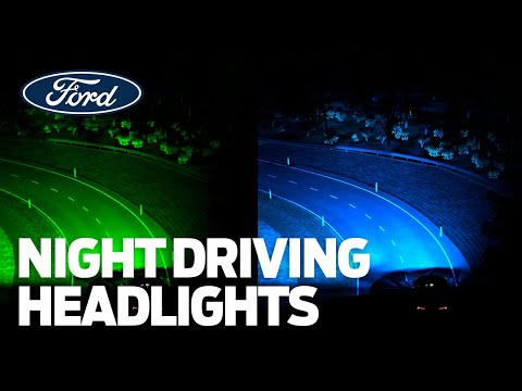 Ford's New Night Driving Headlights are Ahead of the Curve