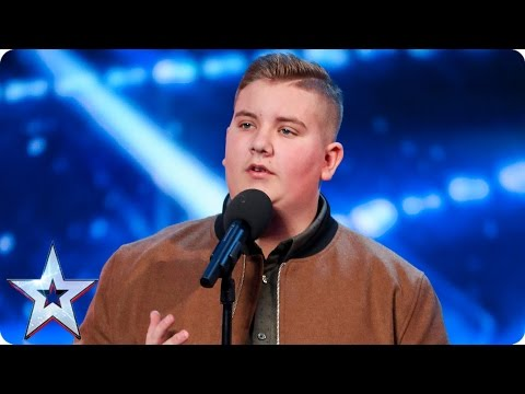Thumbnail: Golden Buzzer act Kyle Tomlinson proves David wrong | Auditions Week 6| Britain's Got Talent 2017