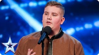 Golden Buzzer act Kyle Tomlinson proves David wrong | Auditi...