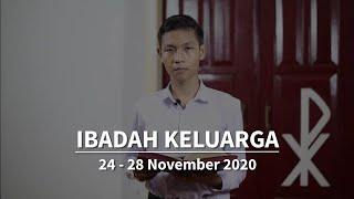 Ibadah Keluarga 24-28 November 2020 - GKJW Jemaat Ngunut
