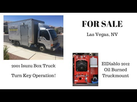 El Diablo Truckmount with Isuzu Box Truck in Las Vegas, NV