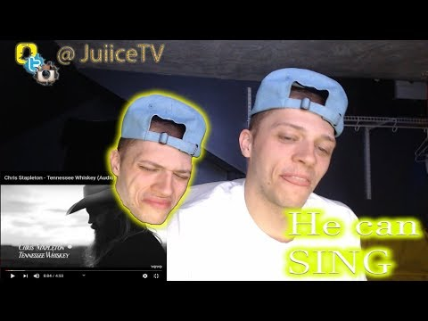 Rapper Listens to country | Chris Stapleton - Tennessee Whiskey | Reaction