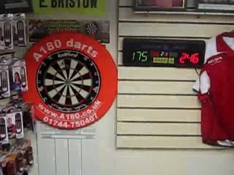 how to score darts baseball