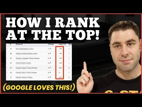 How To Rank Your Website On The First Page! (Affiliate SEO For Beginners)