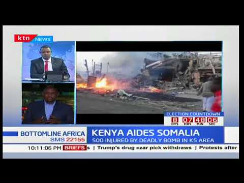 Kenya aides Somalia after deadly bomb attack in K5 area: Bot