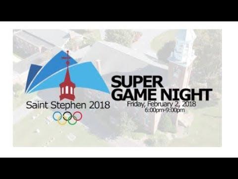 ST STEPHEN REFORMED CHURCH SUPER ... GAME NIGHT 02-02-2018