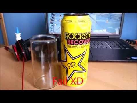 Energy Drink Review: Rockstar Recovery Lemonade (German)