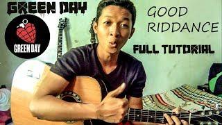 Tutorial Gitar Cara Bermain Green Day - Good Riddance(Time Of Your Life)