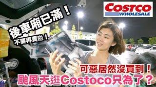 《今天Costco》颱風天逛好市多為了?|買到車裝不下!【 I'm Daddy】