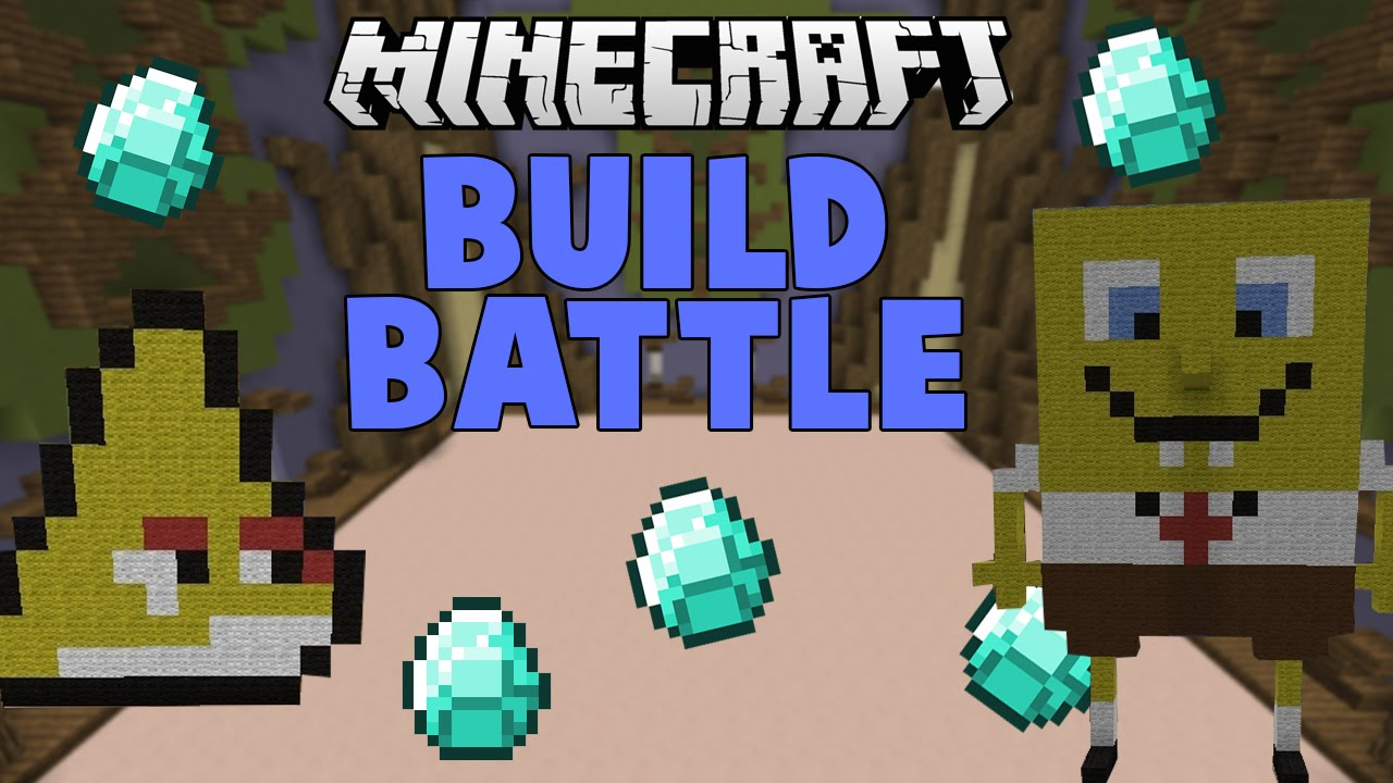 Minecraft How To Build Spongebob