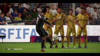 FIFA 18 Ronaldo Frikik Gol