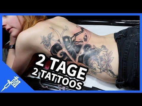 2 Tage I 2 neue Tattoos I Kupferfuchs VLOG