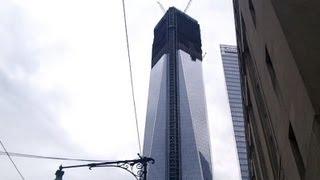 UPDATE! One World Trade Center / Freedom Tower 6/30/2012 construction progress part 1