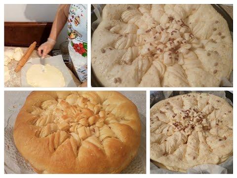 Bakina kuhinja - posna lisnata pogača sjajan recept (Lenten puff pastry)