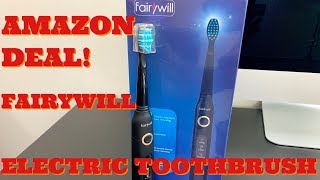 Electric Toothbrush Rechargeable Sonic Toothbrush By Fairywill