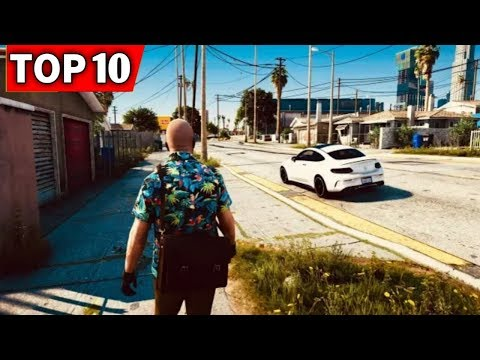 TOP 10 OPEN WORLD GAMES ON ANDROID LIKE GTA 5 [2019]