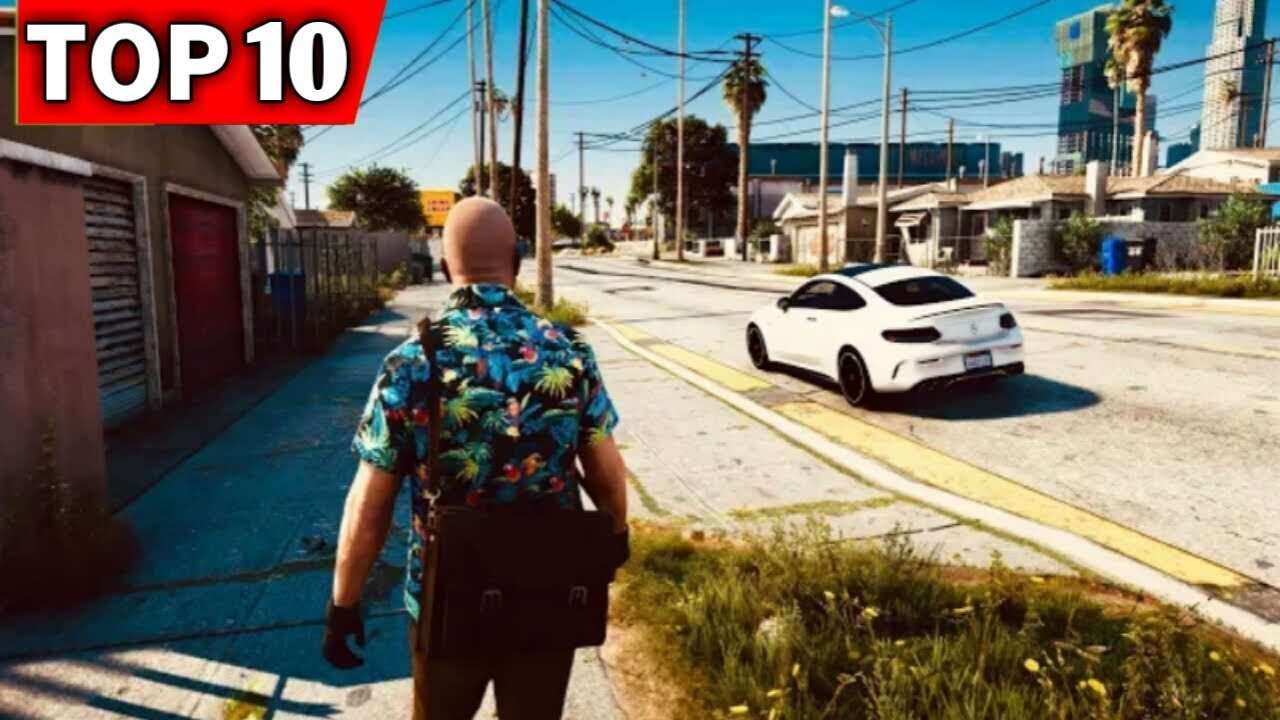 Top 10 Open World Games On Android Like Gta 5 2019 Youtube
