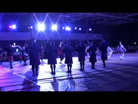 2013 Valley Forge Military Academy Tatoo: Washington Memorial Pipe Band