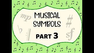 How to read music: Musical symbols (Accidentals, Tempo, Dynamics, articulations, Repeat signs)