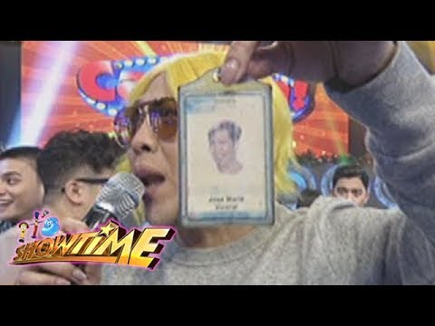 It's Showtime Cash-Ya: Vice shows his old I.D picture