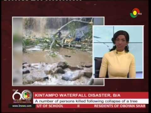 20 lives lost in Kintampo waterfall accident - 19/3/2017