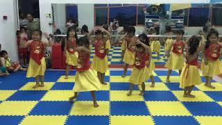 Bài nhảy úp lá khoai của các bé
