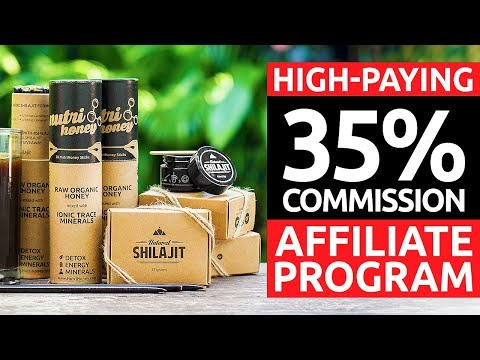 NATURAL SHILAJIT: Join Our Affiliate/Referral Program, Share a Link, Make Extra Money.