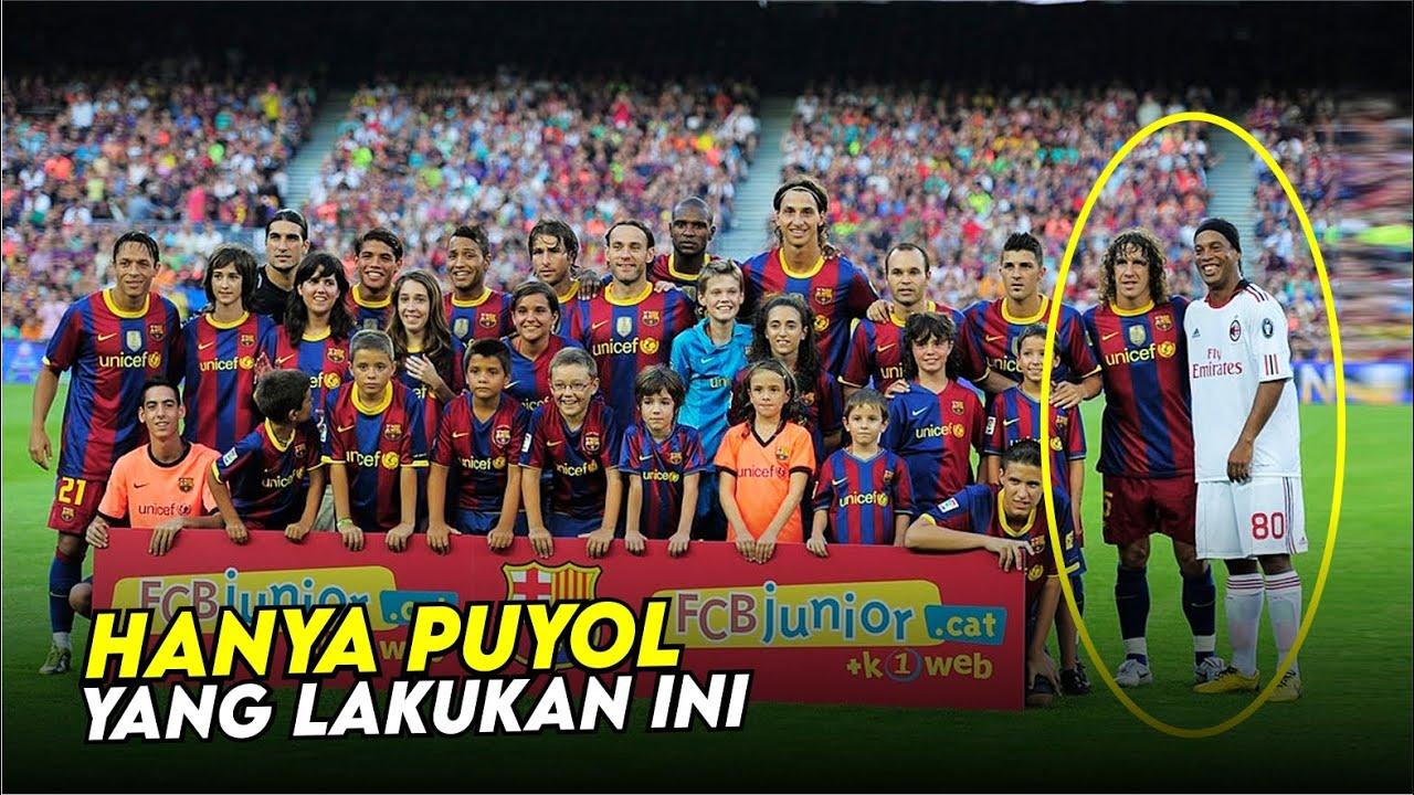Kebesaran Hati Carles Puyol Yang Menjadikanya Melegenda