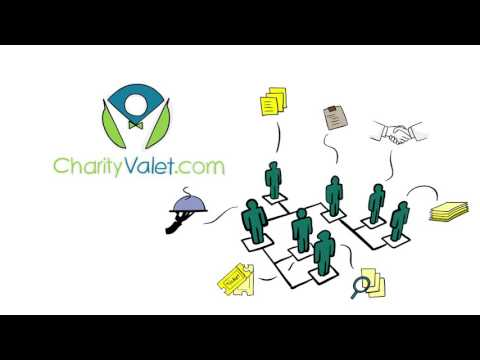Charity Valet Fundraising Software