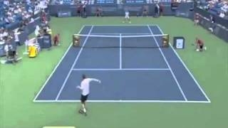 Amazing Defense from Andy Murray in this 57 Shot Rally
