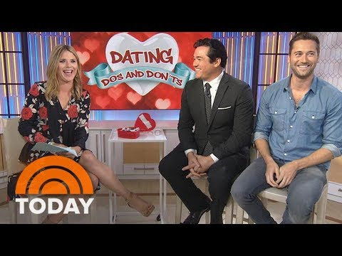 Dean Cain and Ryan Eggold Share Their Dating Do's and Don'ts  TODAY