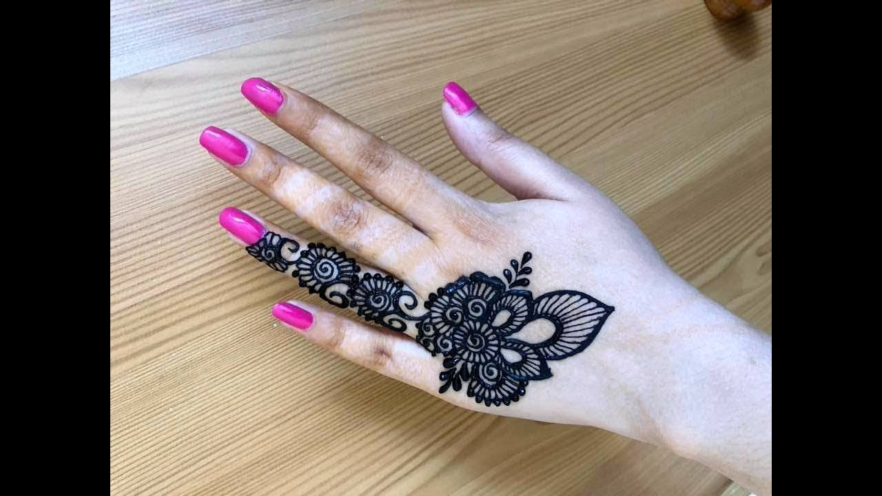 Beautiful Henna Designs: Beautiful Stylish Girly Henna Jewellery Simple Easy Party