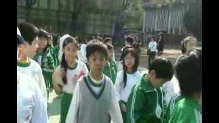 學校生活紀錄影片 [升旗,上課]-Tiffany