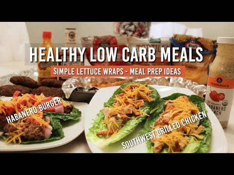 Meal Prep Ideas Healthy Lettuce Wrap Recipes