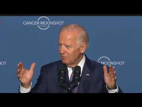 Vice President Joe Biden Delivers Remarks at the Cancer Moonshot Summit 6/29/16