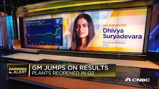 General Motors CFO Dhivya Suryadevara on second-quarter earnings