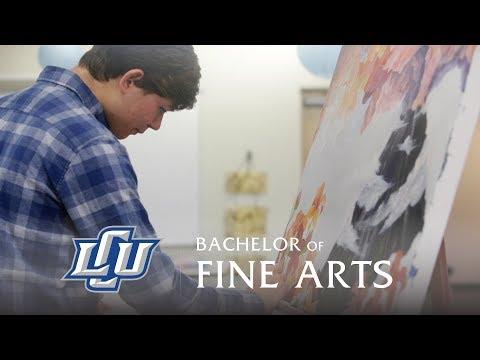 Bachelor of Fine Arts at LCU