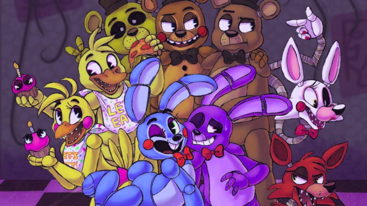 nightcore five nights at freddys 2�sayonara maxwell