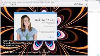 BluffTitler. Как установить версию 12.0.0 mp4