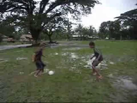 Teach Me How To Dribble #3 [Little & Loud Soccer in Solomon Islands]