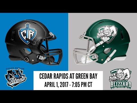Week 7 | Cedar Rapids Titans at Green Bay Blizzard